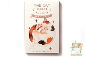 Набор из 30 открыток: Спящие кошки