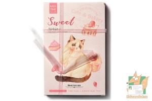 Набор из 30 открыток: Кошки с ленточкой
