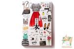 Набор из 36 открыток: Мода