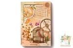 Набор из 26 фигурных открыток с рамками: Старые письма