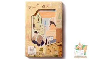 Набор из 26 открыток с рамками: Знакомые места