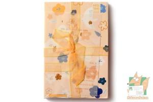 Набор из 30 открыток с ленточкой: Синяя птица и стихотворение