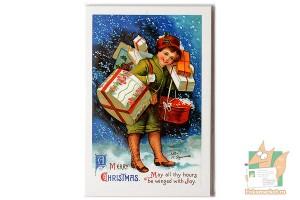 Набор из 14 открыток: Christmas