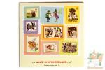 36 наклеек в виде марок: Алиса