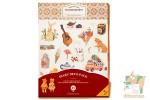 Набор декоративных стикеров для дневников (9 листов)