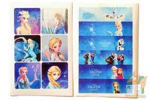 Набор наклеек из 8 листов: Frozen