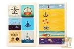 Набор наклеек из 8 листов: Море