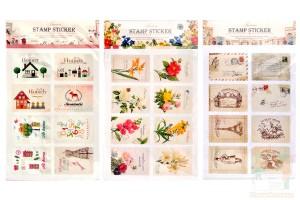 Наборы наклеек: Stamp Sticker2