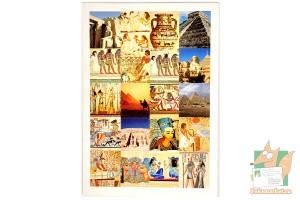 80 наклеек в виде марок: Античность