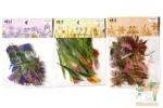 Наборы из 40 прозрачных наклеек: Цветочный рай