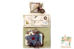 Набор наклеек в виде марок: Природа