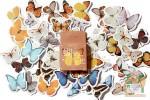 Набор из 46 наклеек: Бабочки