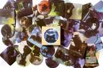 Набор из 46 наклеек: Черные кошки