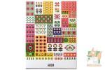 Наборы наклеек из 4 листов: Цветочное вдохновение