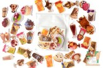 Набор наклеек Камио: Десерты