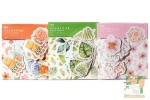 Набор из 45 фигурных наклеек: В царстве растений