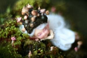 Открытка: Спящая фея