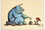 Открытки студии Pixar: Monsters inc