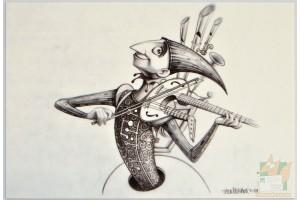 Открытки студии Pixar: One Man Band