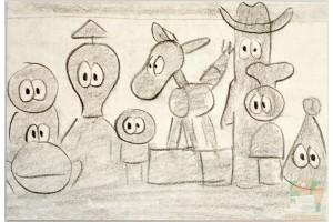 Открытки студии Pixar: Tin Toy