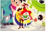 Открытки студии Pixar: Art by Ricky Nierva