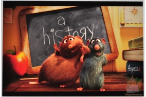 Открытки Pixar II: Your Friend the Rat