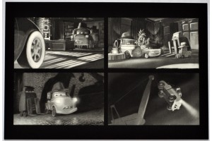 Открытки Pixar II: Mater Private Eye