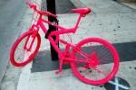 Открытка: Розовый велосипед