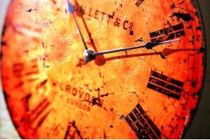 Открытка: Часы