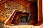 Открытка: Старая лестница