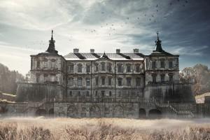Открытка: Подгорецкий замок