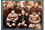 Льняная открытка: Ялтинская конференция