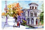 Открытка: Севастополь. Библиотека им. Л.Н.Толстого
