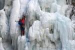 Открытка: Альпинист на сосульках