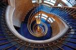 Открытка: Синяя лестница