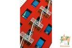 Открытка: Геометрия красного дома