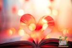 Открытка: Книжное сердце