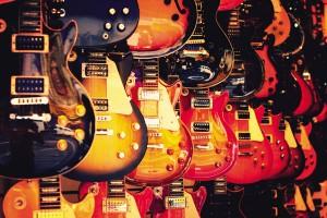 Открытка: Гитары