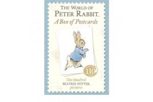 Набор из 100 почтовых открыток: The World of Peter Rabbit