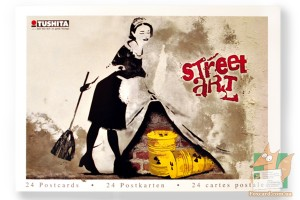 Набор из 24 открыток: Стрит арт