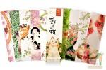Закладки картонные: Кошки