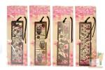 Закладки прямоугольные металлические Art Bookmarks