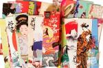 Закладки картонные: Восточная живопись