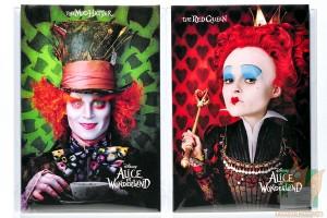 Наборы из 7 открыток: Алиса в Стране чудес