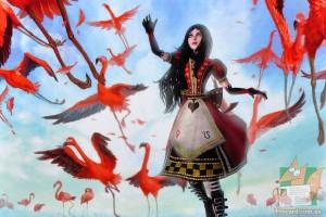Открытка: Алиса