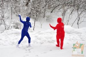 Открытка: Русская зима