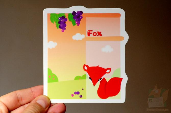 Набор почтовых карточек с буквами английского алфавита