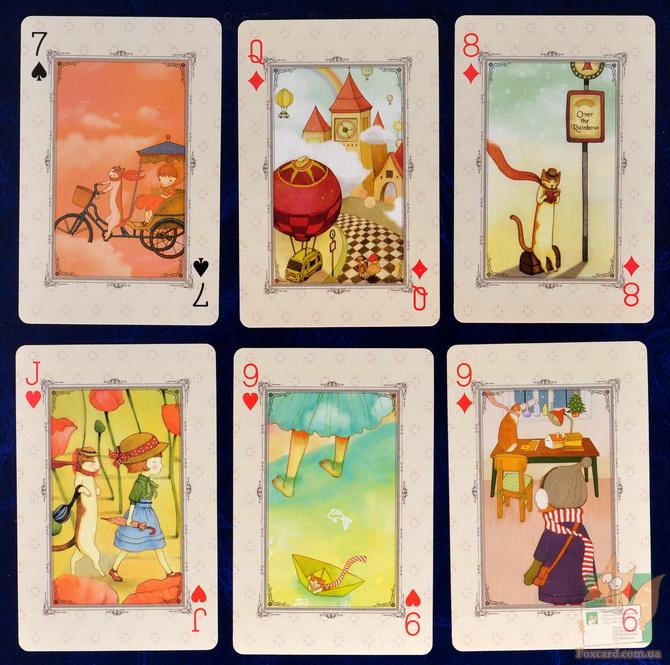 история картинок на игральных картах
