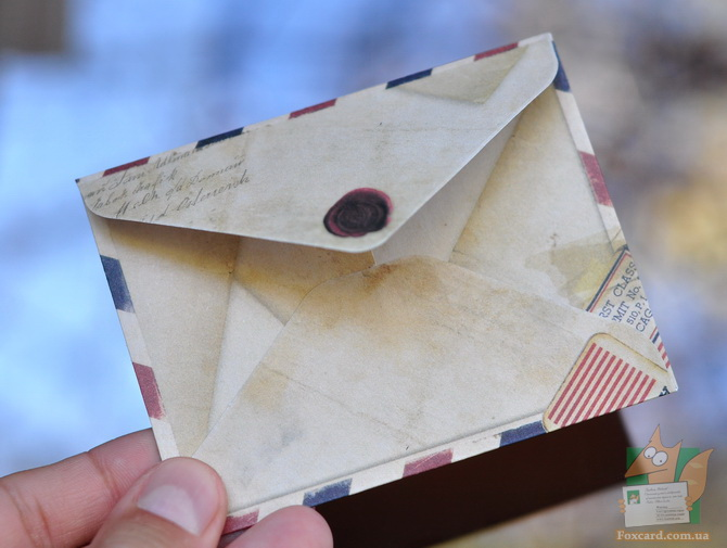 мини конверты для записок
