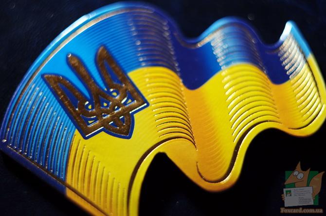 Магнит - флаг Украины